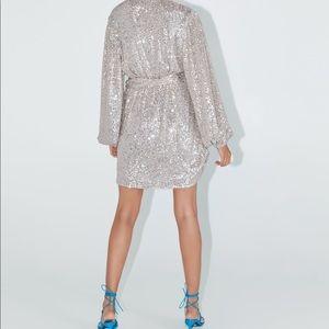ZARA Sequin Blazer/Dress